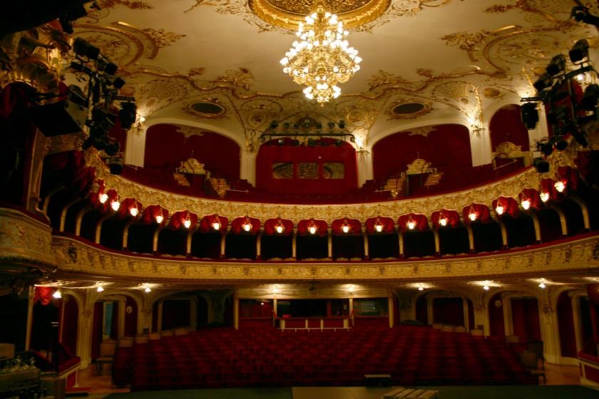 A színház belülről