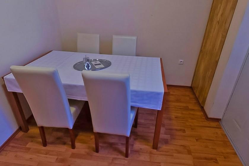 Apartman étkező része
