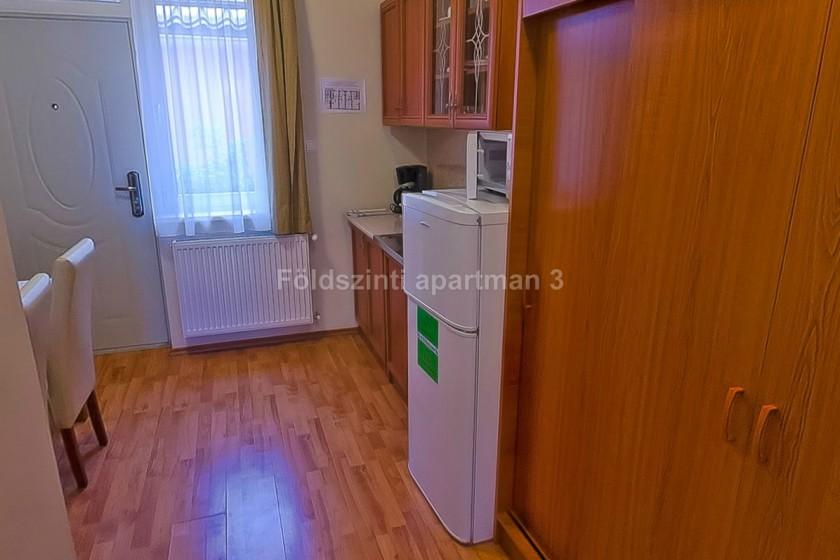 Apartman konyhája