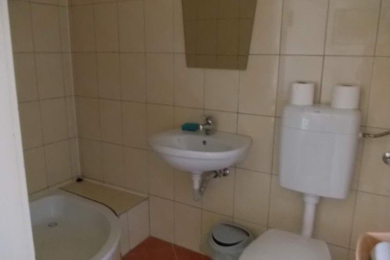 Csűrszálló fürdőszobája