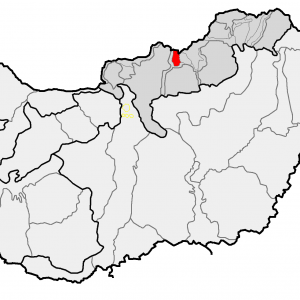 Medves-fennsík térképen