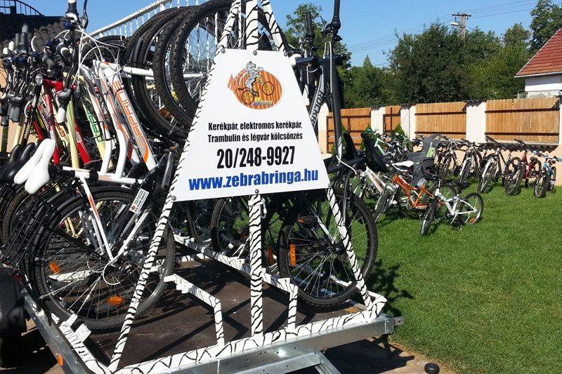 Zebra Bringa kerékpártúra