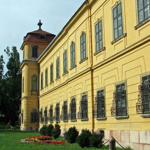 A kastély homlokzata