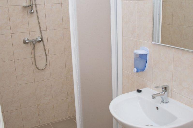 Tájoló Vendégház fürdőszoba