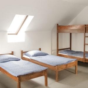 Ifjúsági szállás szobája