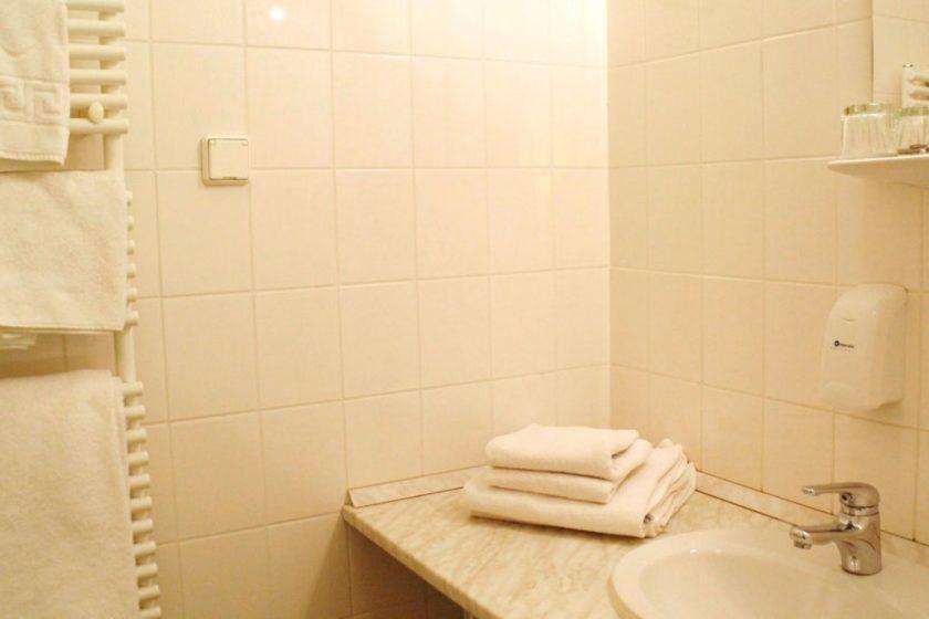 Apartman fürdőszobája