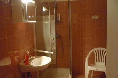 Parasztház fürdőszobája