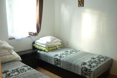 Új apartmanház szobája