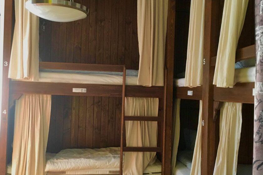 Nyolcágyas szoba