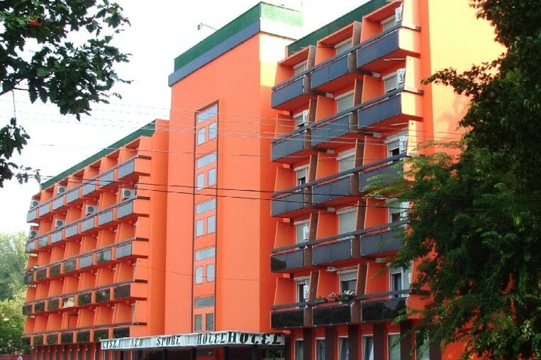 Tisza Sport Hotel épület