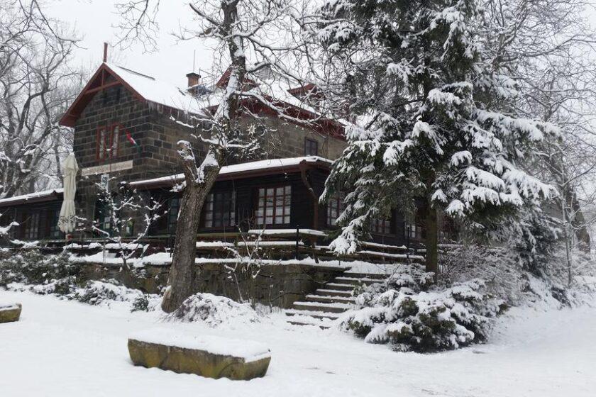 Báró Eötvös Loránd Menedékház télen