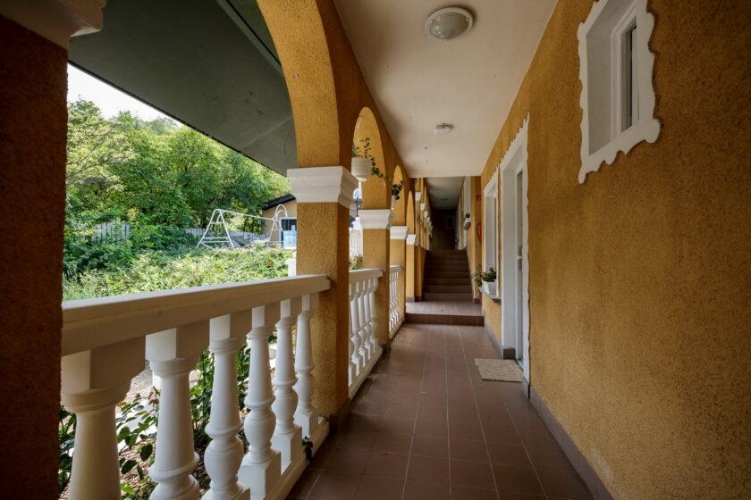 Panoráma Birtok panzió folyosó