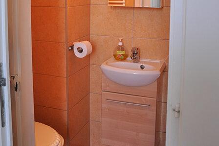 Gloriett Panzió fürdőszoba