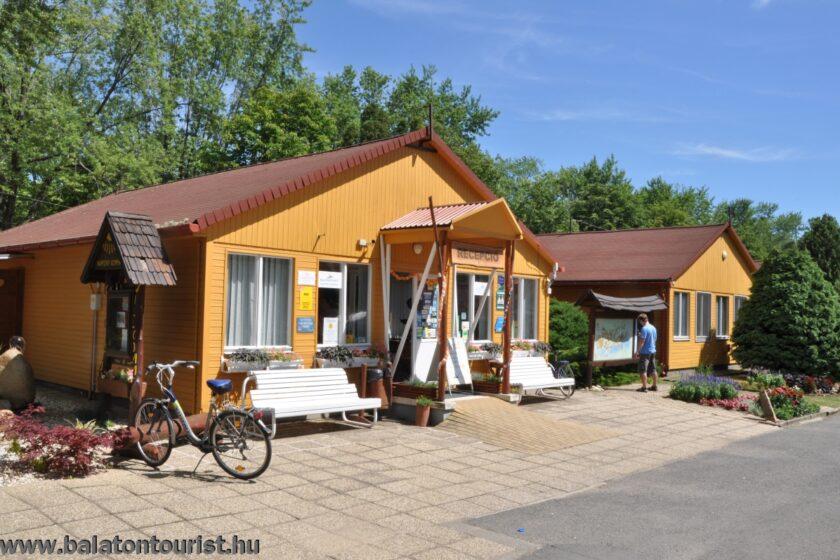 Balatontourist Napfény Kemping recepció